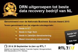 DRN award banner